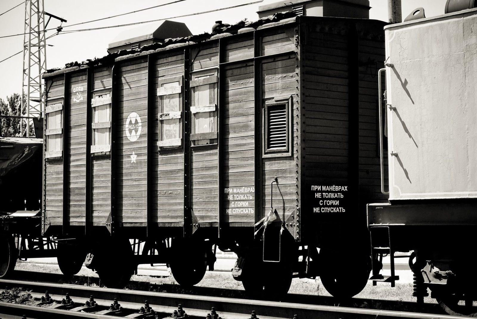 Вспоминая паровозы из музея истории