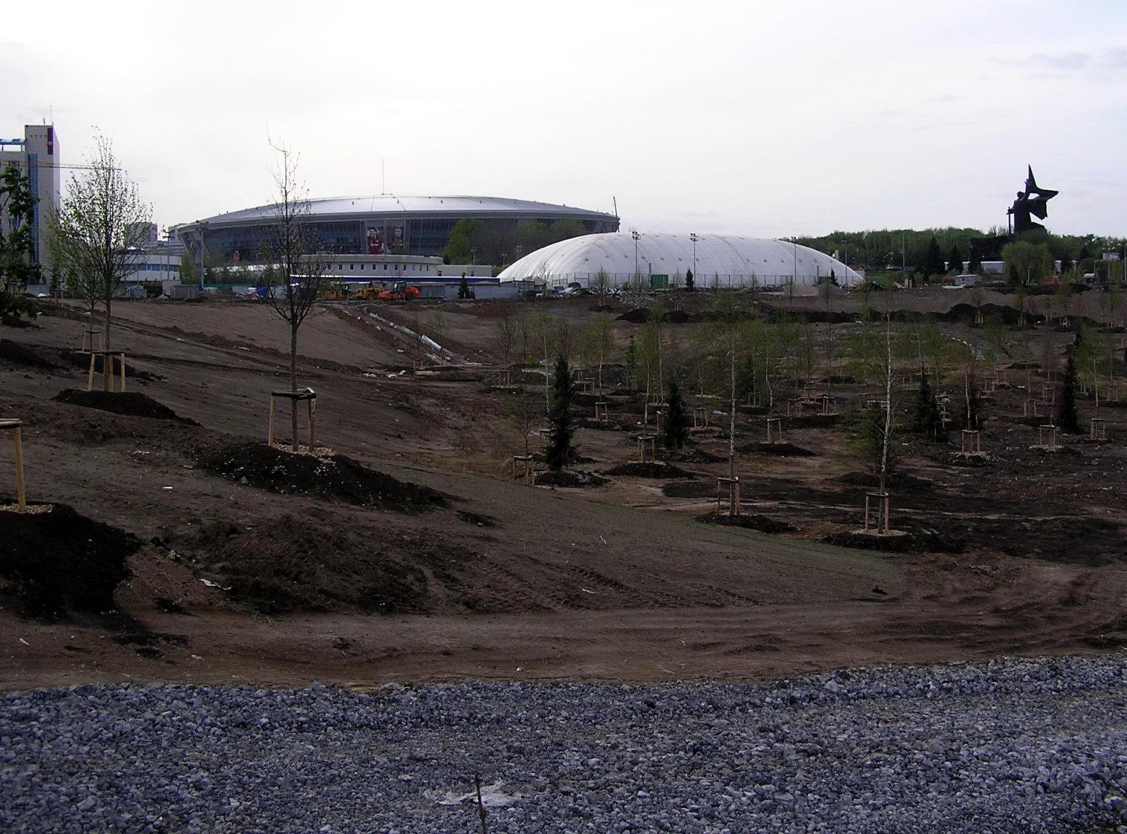 """Парк """"Виктория"""". 2011 г."""