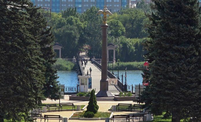 В парке культуры и отдыха им. А.С Щербакова ведутся работы по благоустройству