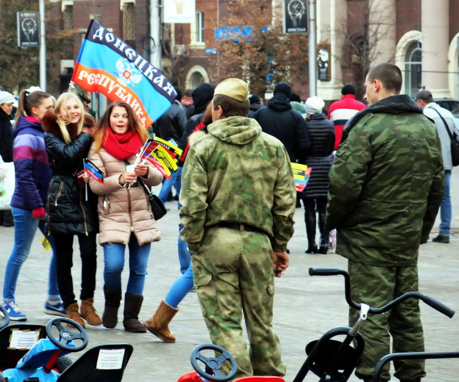 Выборы Главы и Народного совета ДНР. 2 ноября 2014 г.
