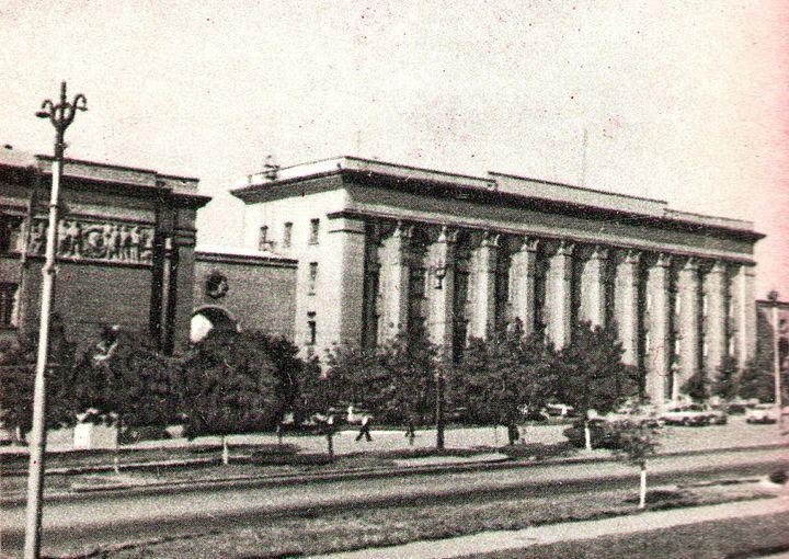 Фотолетопись. Донецк. ДонУГИ. 1963-1964 год.