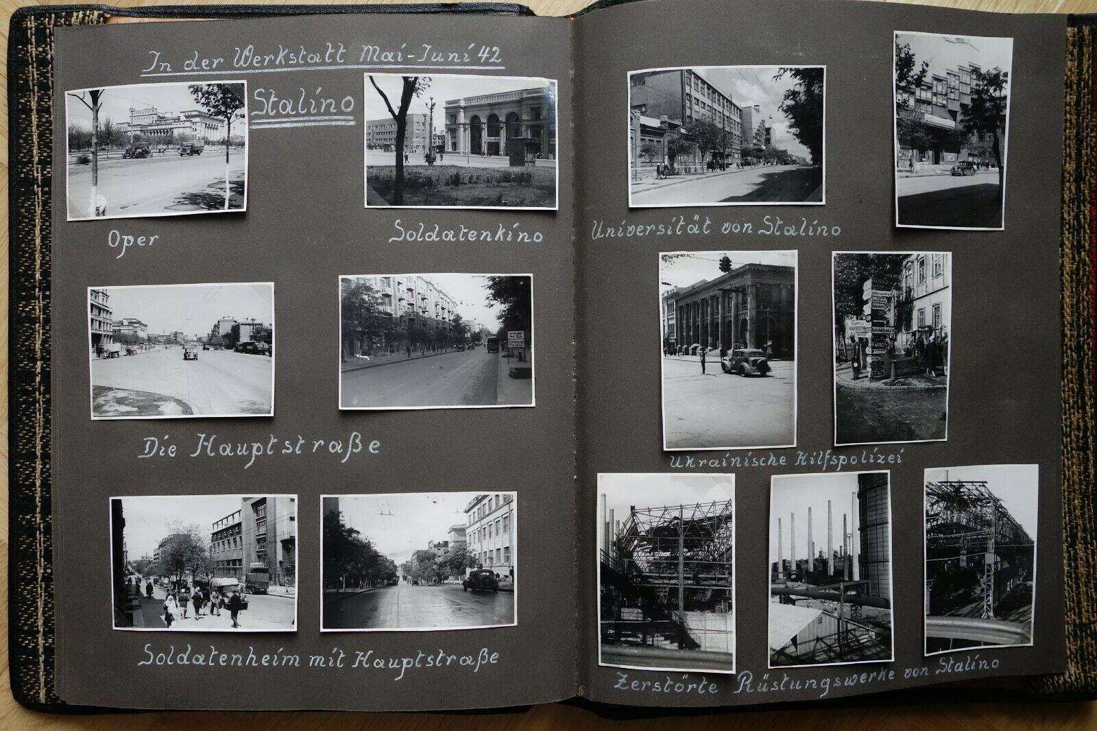 Город Сталино во время оккупации