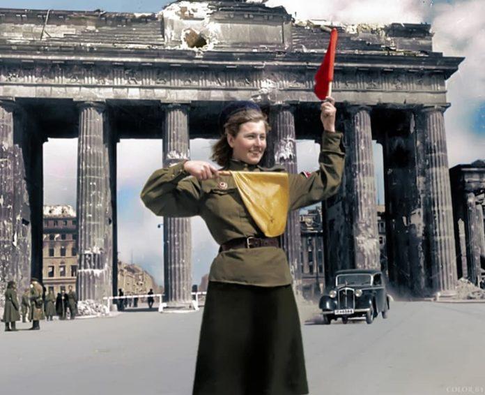 Фотолетопись. Хозяйка Бранденбургских Ворот, Лидия Андреевна Овчаренко (Спивак)