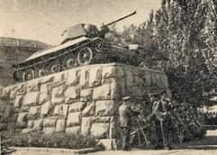 Фотолетопись. Донецк. Старый танк на новом постаменте