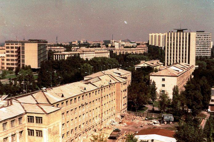 Фотолетопись. Донецк. 1977-1978 год. Студгородок