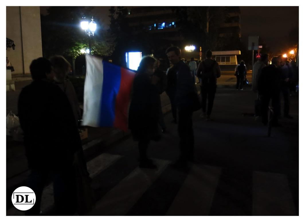 Донецк голосует на выборах в Государственную Думу РФ