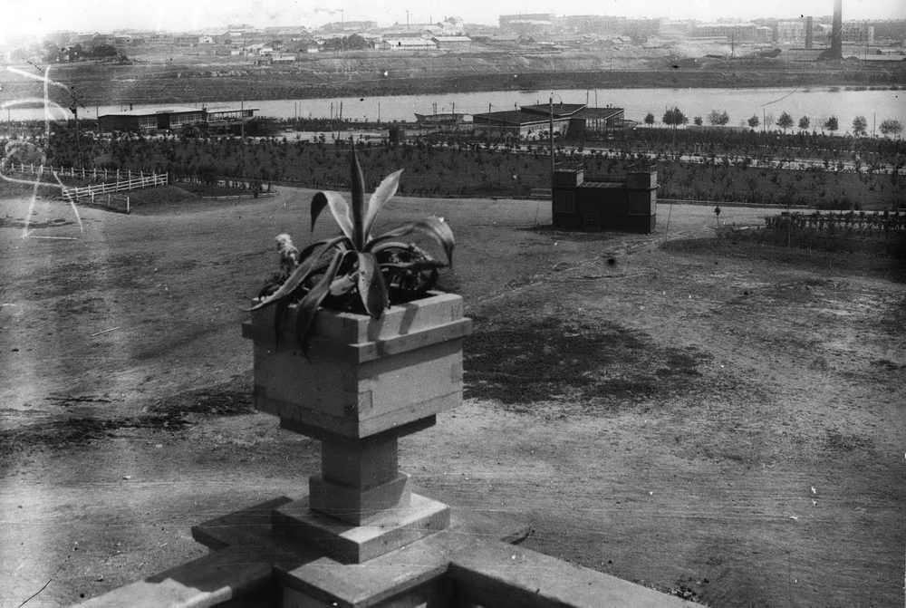 Фотолетопись. Исторический календарь жителя Донецка. Разбивка парка Щербакова. 1932 г.