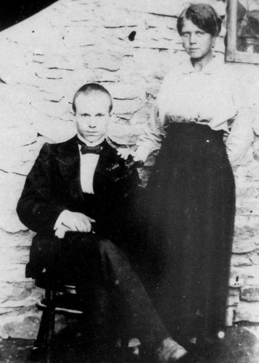 Фотолетопись. Никита Сергеевич Хрущев с супругой. Юзовка 1916 г.