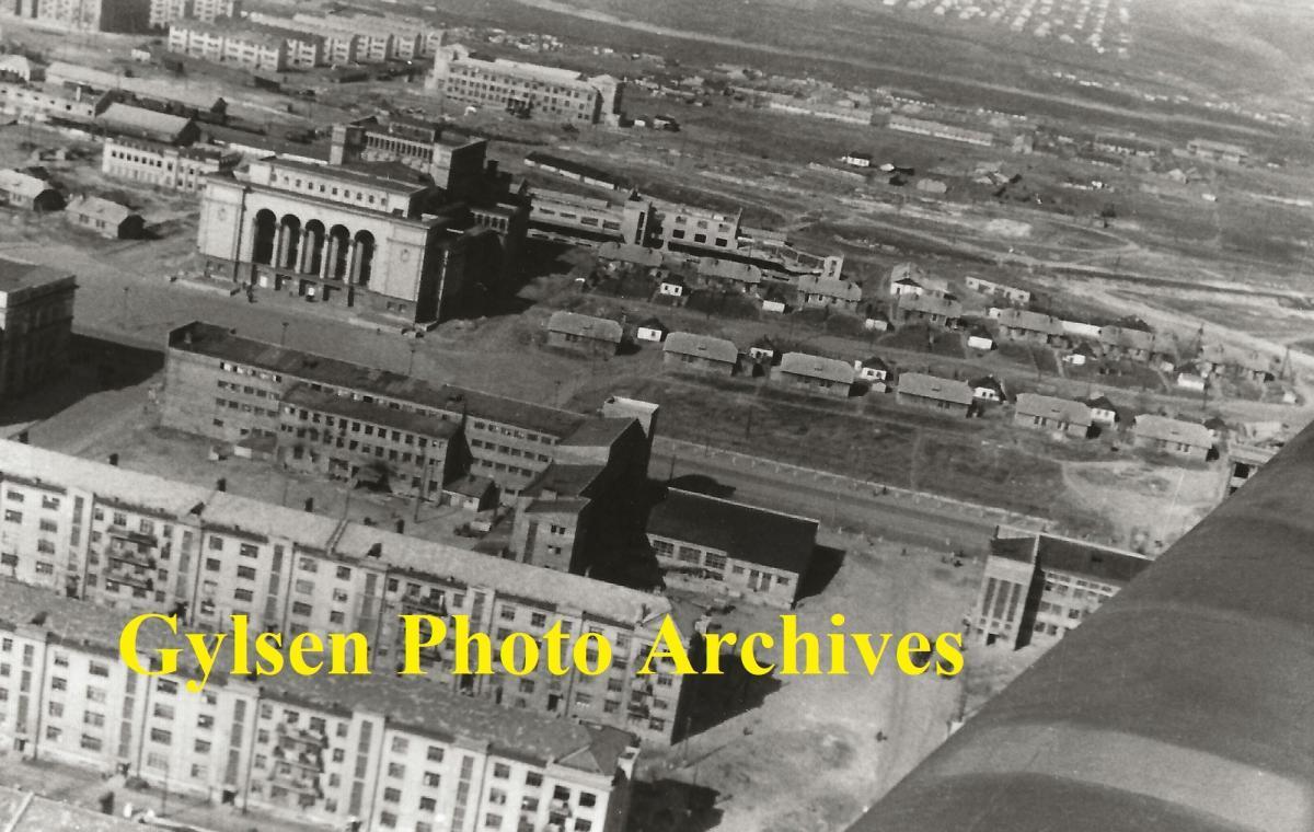 Фотолетопись. Сталино. Снимок с самолета - апрель 1943 г.