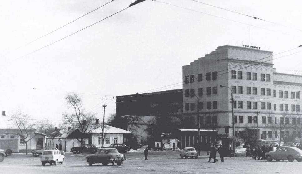 Фотолетопись. Проспект Ильича. 1960-е или конец 50-х