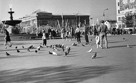 Фотолетопись. Площадь Ленина, конец апреля 1963 года