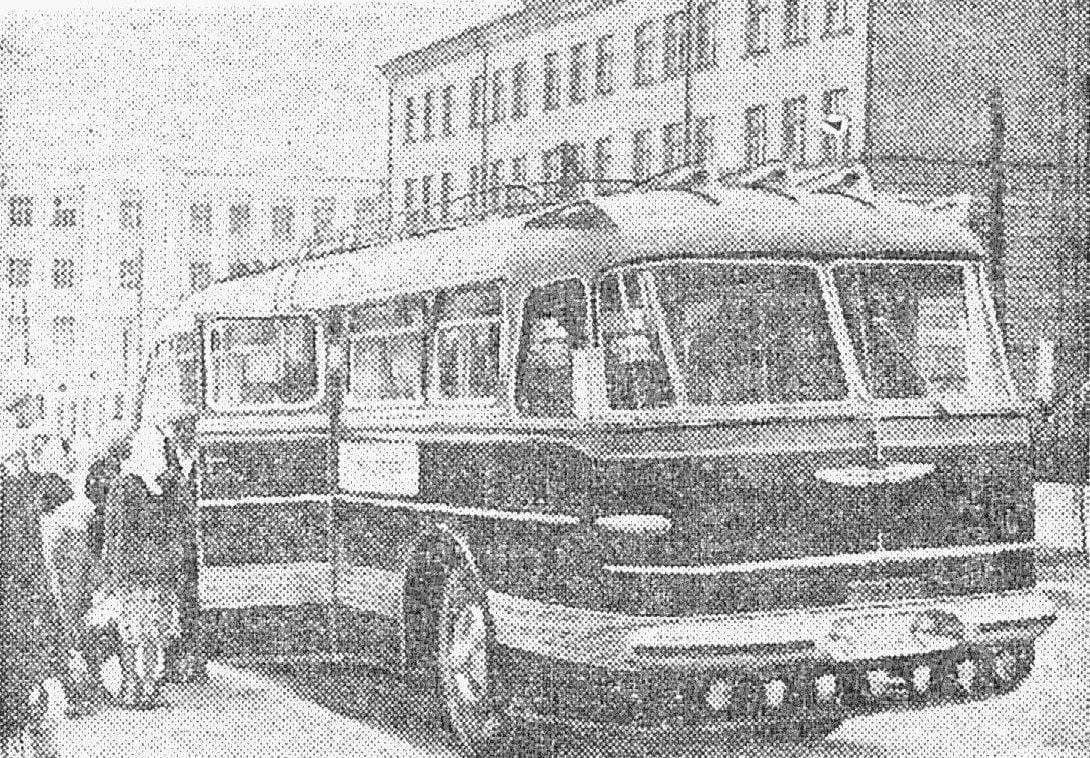"""Фотолетопись. Легендарный """"Икарус"""" на дорогах Донбасса. 1957 г."""