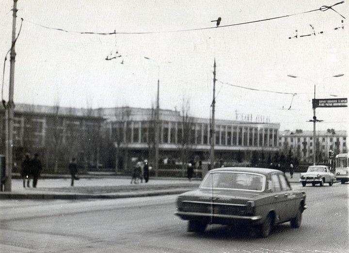 Фотолетопись. Донецк. Белый лебедь. 70-е.
