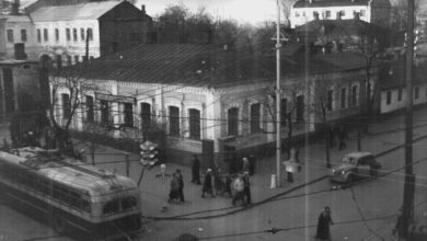 Фотолетопись. Донецк. Ул. Артема. 60-е годы.