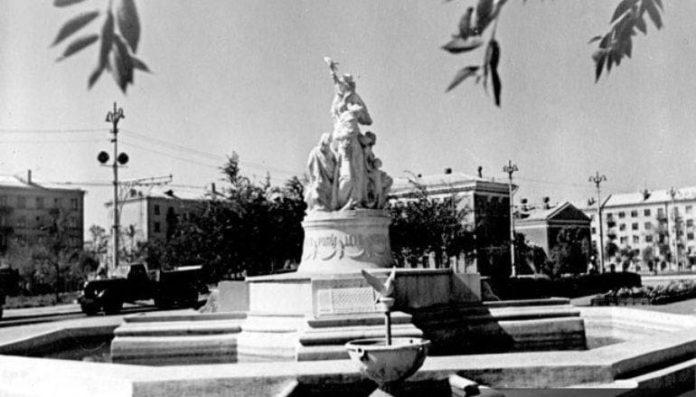 """Фотолетопись. Исторический календарь жителя Донецка: """"фонтан Мира"""""""